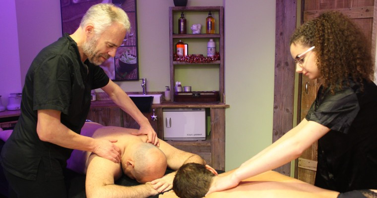 Massage Californien Sweet Home 2 mains