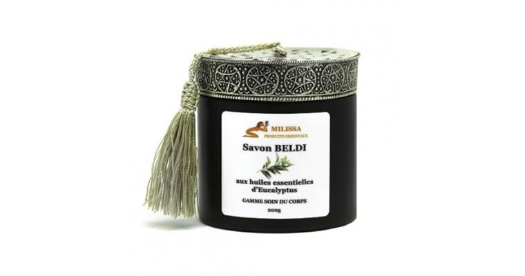 Savon Beldi aux Huile Essentielles d'Eucalyptus