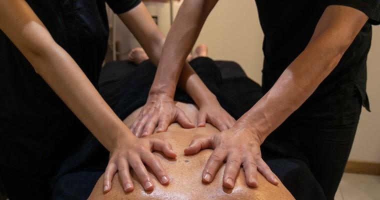 Massage Essentiel 4 mains